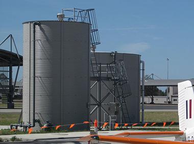 Airport Water Tank
