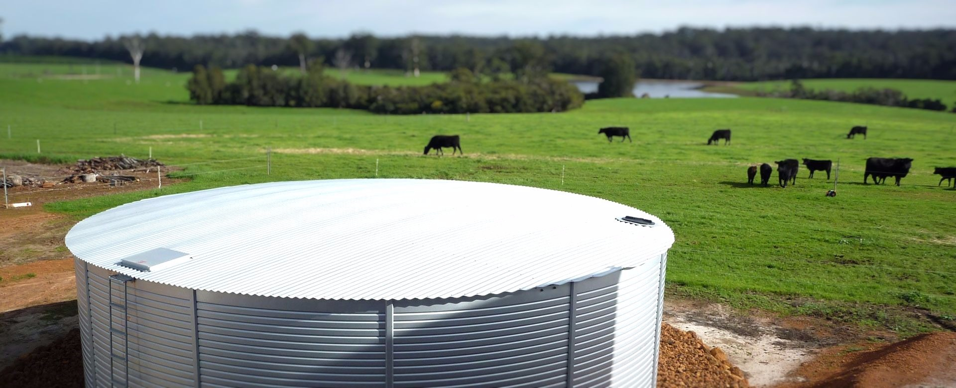 Water Tank at Farm