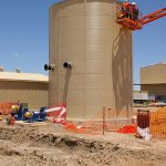 Building Water Tank